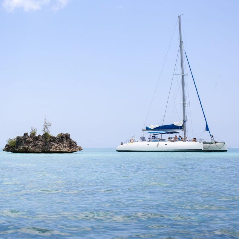 Catamaran - Rivière Noire