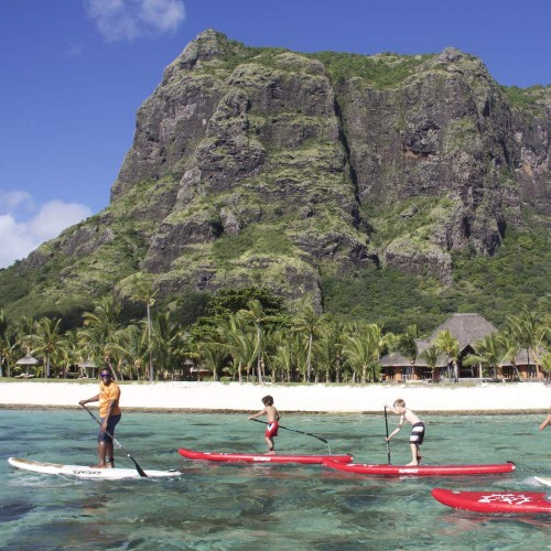 Stand Up Paddle - Le Morne - Baie de Tamarin