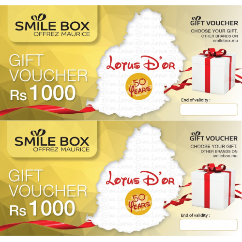 Gift Voucher Lotus d'Or